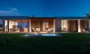 Istra, Novigrad dizajnerska villa u elitnom naselju panoramskoga pogleda na more u svim smjerovima