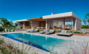 Istra, Novigrad dizajnerska villa moderne, istarske arhitekture, panoramskoga pogleda na more